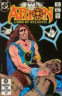 Cover Thumbnail for Arion, Lord of Atlantis (DC, 1982 series) #5 [Direct]