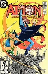 Cover Thumbnail for Arion, Lord of Atlantis (DC, 1982 series) #7 [Direct]