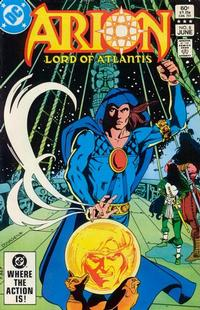 Cover Thumbnail for Arion, Lord of Atlantis (DC, 1982 series) #8 [Direct]