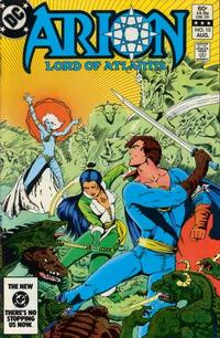 Cover Thumbnail for Arion, Lord of Atlantis (DC, 1982 series) #10 [Direct]