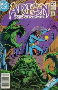 Cover Thumbnail for Arion, Lord of Atlantis (DC, 1982 series) #11 [Newsstand]