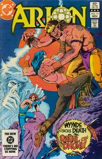 Cover Thumbnail for Arion, Lord of Atlantis (DC, 1982 series) #13 [Direct]