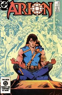 Cover Thumbnail for Arion, Lord of Atlantis (DC, 1982 series) #21 [Direct]