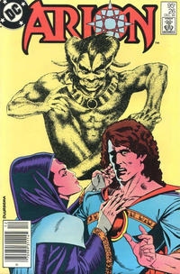 Cover Thumbnail for Arion, Lord of Atlantis (DC, 1982 series) #26 [Canadian]