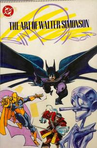 Cover Thumbnail for The Art of Walter Simonson (DC, 1989 series)
