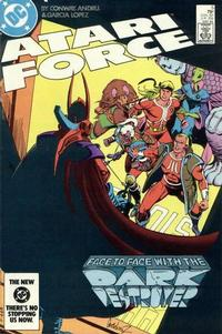 Cover Thumbnail for Atari Force (DC, 1984 series) #5 [Direct]