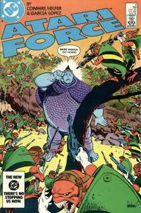 Cover for Atari Force (DC, 1984 series) #8 [Direct Edition]