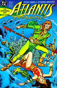 Cover Thumbnail for The Atlantis Chronicles (DC, 1990 series) #2
