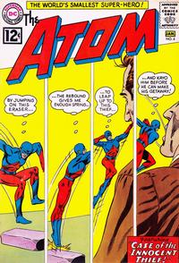 Cover Thumbnail for The Atom (DC, 1962 series) #4