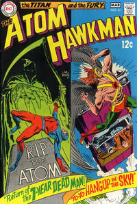 Cover Thumbnail for The Atom & Hawkman (DC, 1968 series) #41