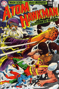 Cover for The Atom & Hawkman (DC, 1968 series) #42
