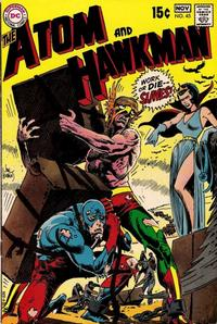 Cover Thumbnail for The Atom & Hawkman (DC, 1968 series) #45
