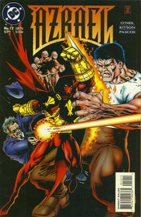 Cover Thumbnail for Azrael (DC, 1995 series) #12 [Direct Sales]