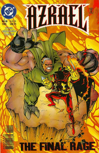 Cover Thumbnail for Azrael (DC, 1995 series) #20 [Direct Sales]