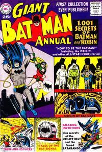 Cover Thumbnail for Batman Annual (DC, 1961 series) #1