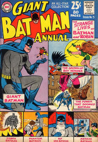 Cover Thumbnail for Batman Annual (DC, 1961 series) #5