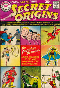 Cover Thumbnail for Secret Origins (DC, 1961 series) #1
