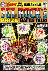 Cover Thumbnail for Sgt. Rock's Prize Battle Tales (DC, 1964 series) #1