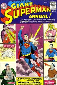 Cover Thumbnail for Superman Annual (DC, 1960 series) #2