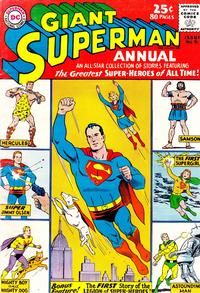 Cover Thumbnail for Superman Annual (DC, 1960 series) #6