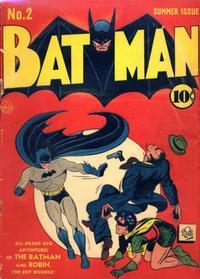 Cover Thumbnail for Batman (DC, 1940 series) #2
