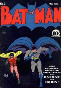 Cover Thumbnail for Batman (DC, 1940 series) #3