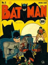 Cover Thumbnail for Batman (DC, 1940 series) #5