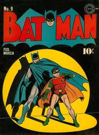 Cover Thumbnail for Batman (DC, 1940 series) #9