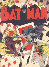 Cover Thumbnail for Batman (DC, 1940 series) #11