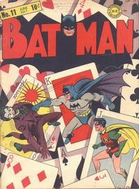 Cover Thumbnail for Batman (DC, 1940 series) #11