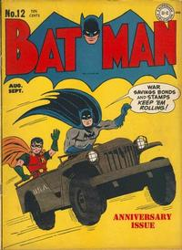 Cover Thumbnail for Batman (DC, 1940 series) #12