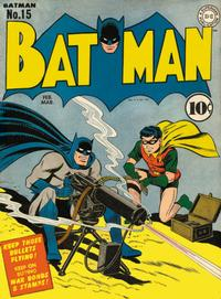 Cover Thumbnail for Batman (DC, 1940 series) #15