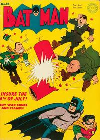 Cover Thumbnail for Batman (DC, 1940 series) #18