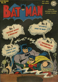 Cover Thumbnail for Batman (DC, 1940 series) #19