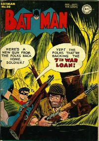 Cover Thumbnail for Batman (DC, 1940 series) #30