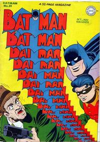 Cover Thumbnail for Batman (DC, 1940 series) #31