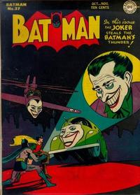 Cover Thumbnail for Batman (DC, 1940 series) #37