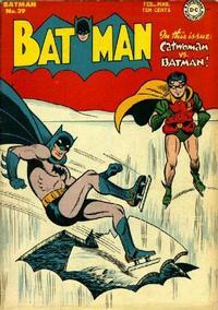 Cover Thumbnail for Batman (DC, 1940 series) #39