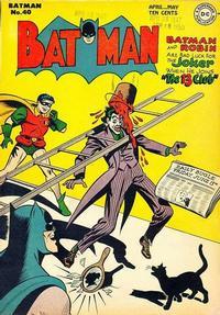 Cover Thumbnail for Batman (DC, 1940 series) #40