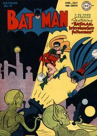 Cover Thumbnail for Batman (DC, 1940 series) #41