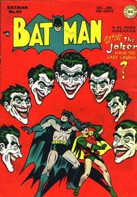 Cover Thumbnail for Batman (DC, 1940 series) #44