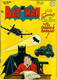 Cover Thumbnail for Batman (DC, 1940 series) #47