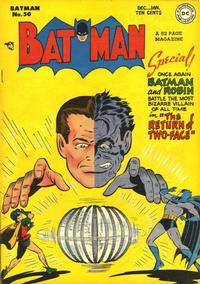 Cover Thumbnail for Batman (DC, 1940 series) #50