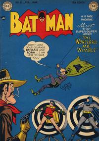 Cover Thumbnail for Batman (DC, 1940 series) #51