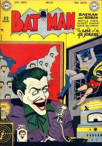 Cover Thumbnail for Batman (DC, 1940 series) #55