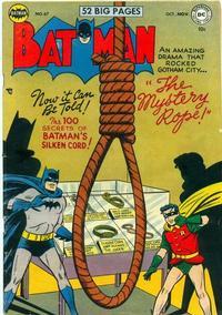Cover Thumbnail for Batman (DC, 1940 series) #67
