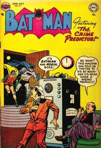 Cover Thumbnail for Batman (DC, 1940 series) #77