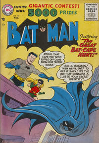 Cover Thumbnail for Batman (DC, 1940 series) #101