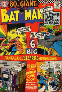 Cover Thumbnail for Batman (DC, 1940 series) #182