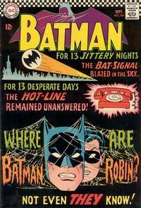 Cover Thumbnail for Batman (DC, 1940 series) #184